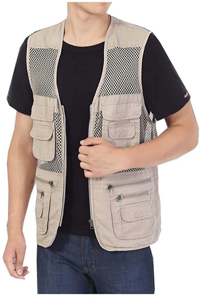 Kedera Multi-pocket Fishing Vest