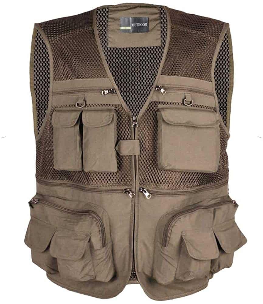 LOOGU Fly Fishing Vest