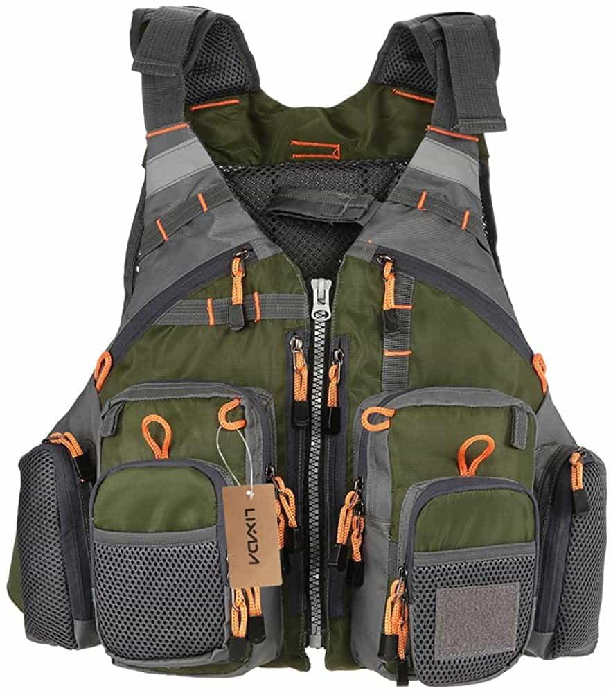 Lixada Breathable Fishing Vest