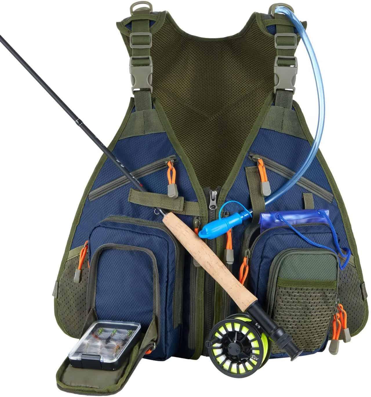 Piscifun Waterproof Fishing Vest
