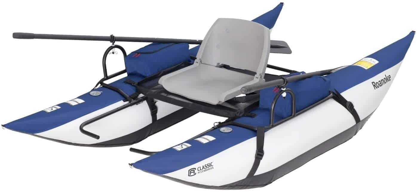 Roanoke Fishing Pontoon Boat by Classic Accessories