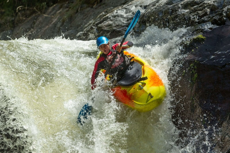 Whitewater Kayaking