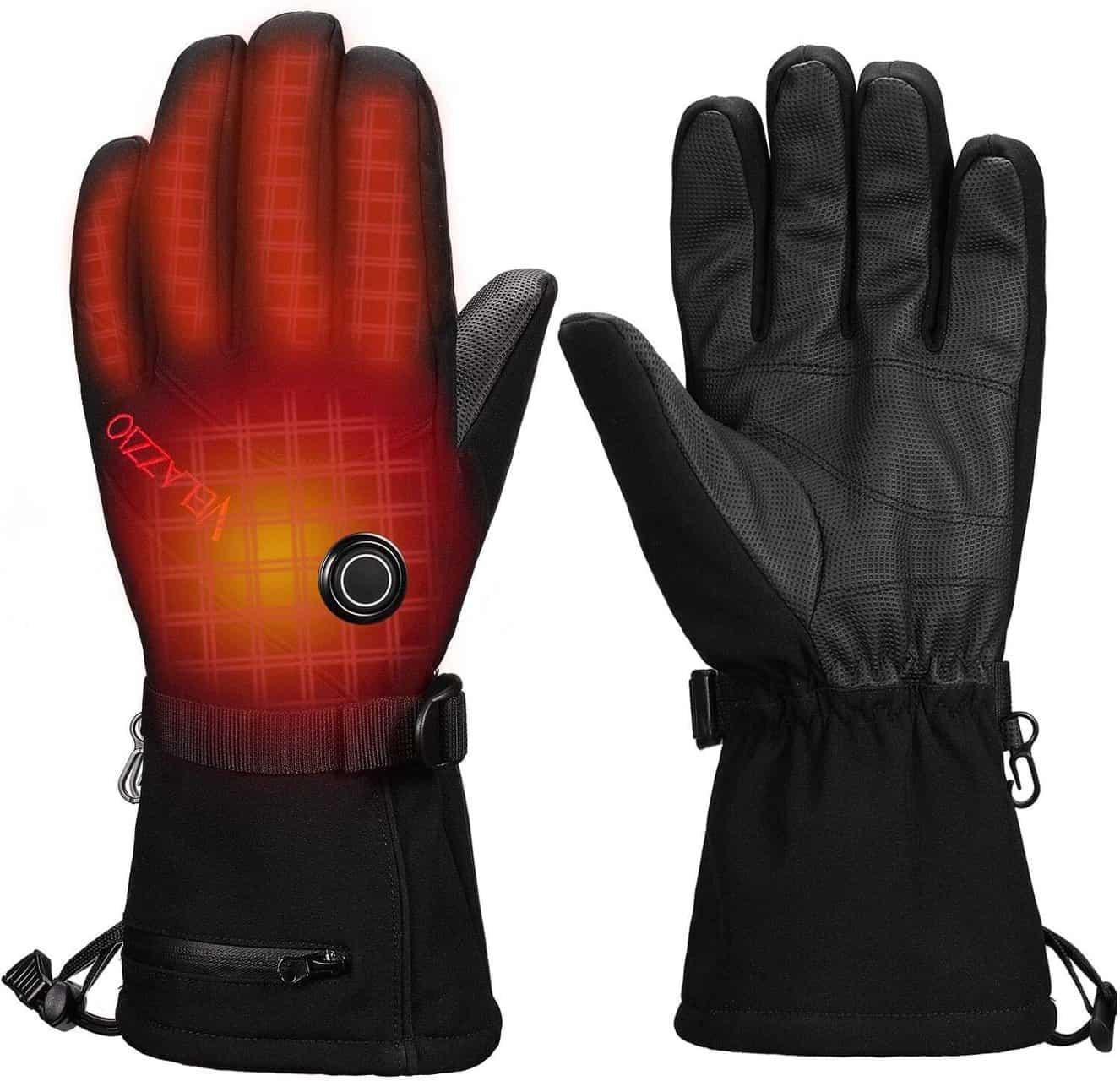 Battery Heated Winter Gloves by Velazzio