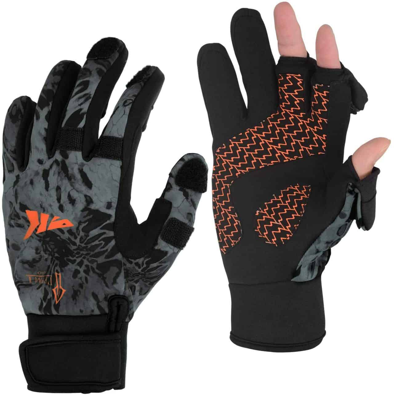 Cold Winter Fishing Gloves by KastKing Mountain