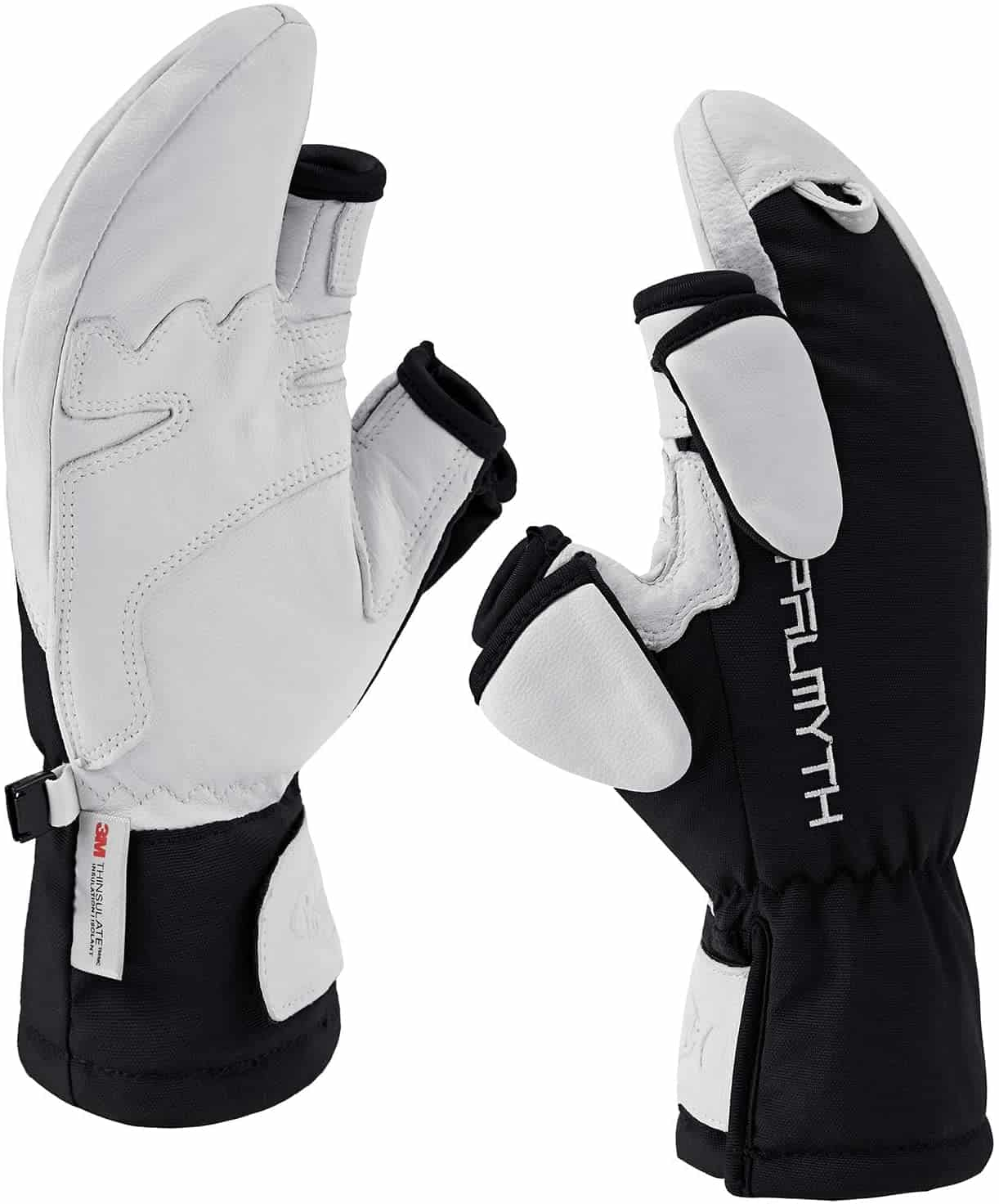 Convertible Ice Fishing Gloves by Palmyth