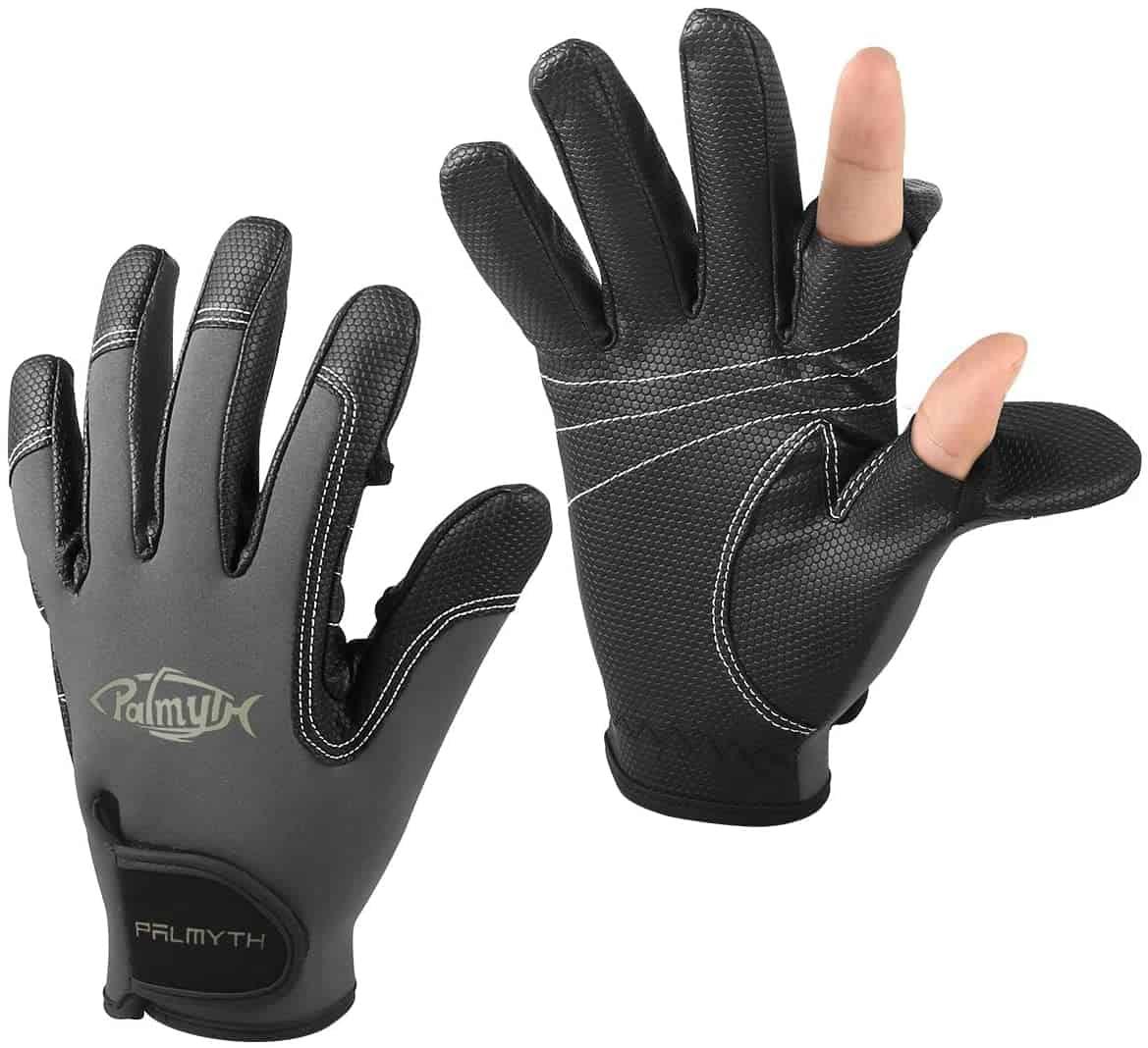 Two Cut Flexible Fishing Gloves by Palmyth