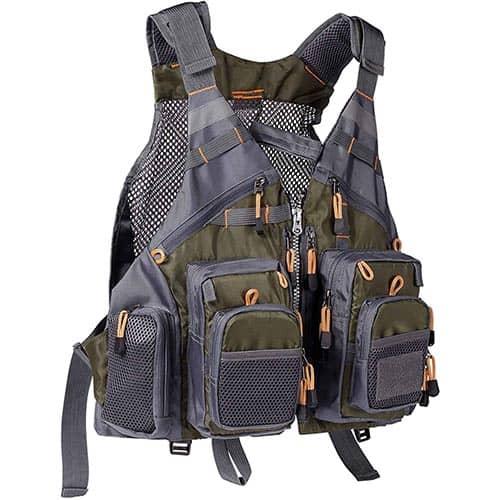Best Fishing Vest #1 - Bassdash Strap Fishing Vest