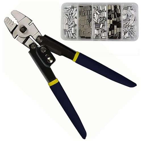 Stainless Steel Crimping Tool Kit by JShanmei