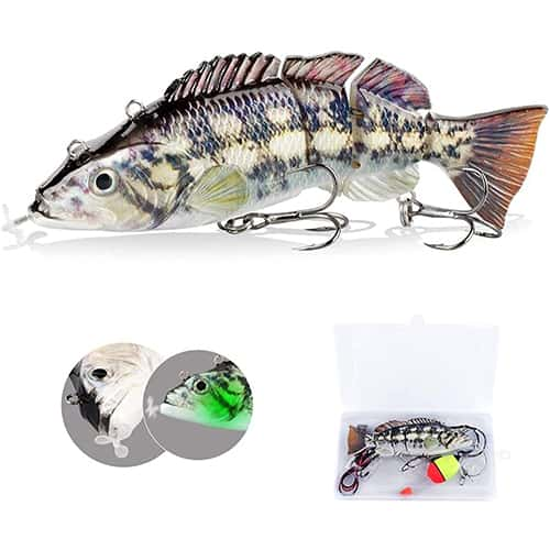 Electric Fishing Lure for Bass Fishing by Actume