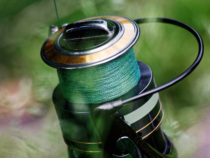 Braided fishing line is the strongest