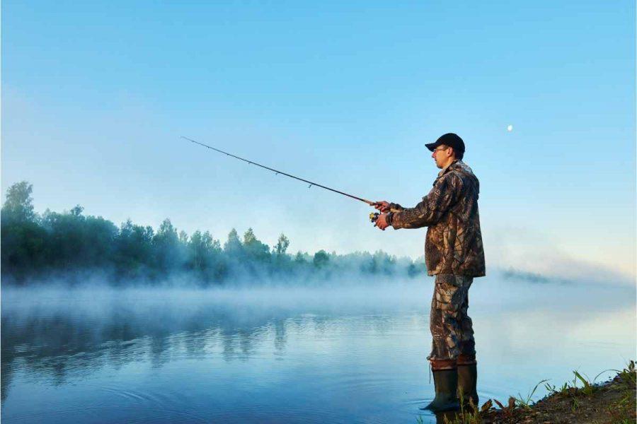 Bank fishing tips